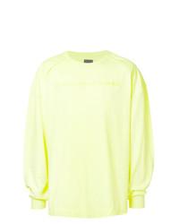 Camiseta de manga larga en verde menta de Juun.J