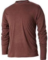 Camiseta de manga larga marrón