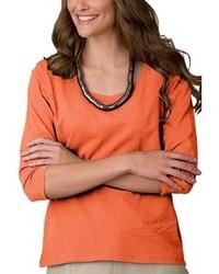 Camiseta de manga larga naranja original 1286151