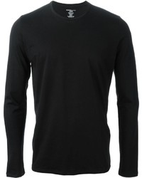 Camiseta de manga larga negra