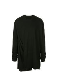 Camiseta de manga larga negra de Julius