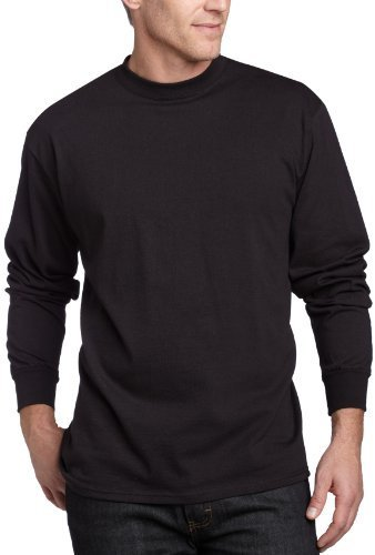 Camiseta de manga larga negra de MJ Soffe
