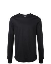 Camiseta de manga larga negra de Nike