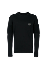 Camiseta de manga larga negra de Philipp Plein