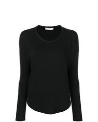 Camiseta de manga larga negra de rag & bone/JEAN