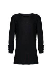 Camiseta de manga larga negra de Unravel Project
