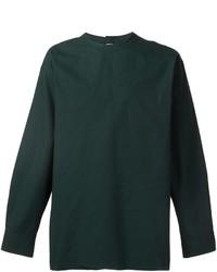 Camiseta de manga larga verde oscuro de Marni