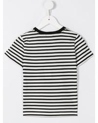 Camiseta de rayas horizontales blanca de Dolce & Gabbana
