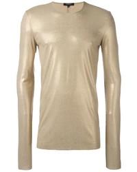 Camiseta dorada