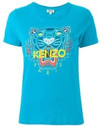 Camiseta en turquesa de Kenzo