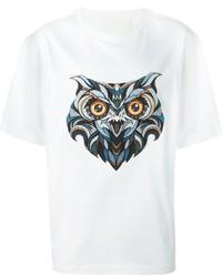 Camiseta estampada blanca de Juun.J