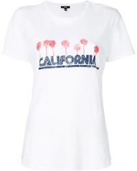 Camiseta Estampada Blanca de Paige