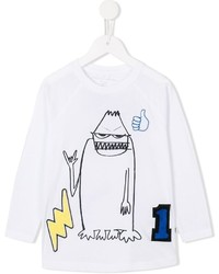 Camiseta estampada blanca de Stella McCartney