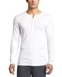 Camiseta Henley Blanca de 2xist