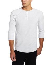 Camiseta henley blanca de Alo Yoga