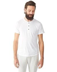 Camiseta henley blanca de Alternative