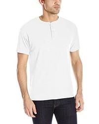 Camiseta henley blanca de Hanes