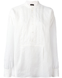Camiseta henley blanca de Joseph