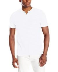 Camiseta henley blanca de Kenneth Cole New York