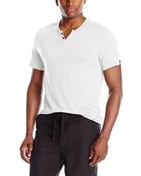 Camiseta henley blanca de Kenneth Cole Reaction