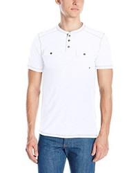 Camiseta henley blanca de Modern Culture
