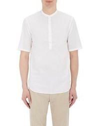 Camiseta Henley Blanca de Officine Generale