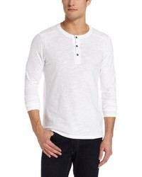 Camiseta henley blanca de Threads 4 Thought