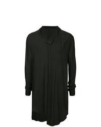 Camiseta henley de manga larga negra de Julius