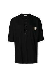 Camiseta henley negra de Ih Nom Uh Nit