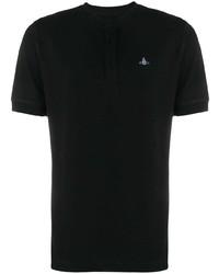 Camiseta henley negra de Vivienne Westwood