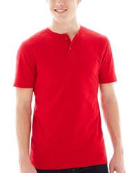 Camiseta henley roja original 2599719