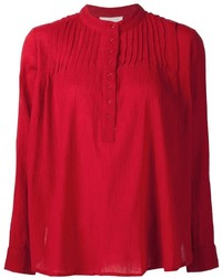 Camiseta henley roja de The Great