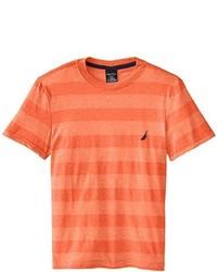 Camiseta naranja de Nautica
