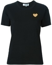 Camiseta negra de Comme des Garcons