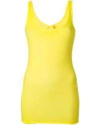 Camiseta sin manga amarilla de Humanoid