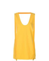 Camiseta sin manga amarilla de JW Anderson