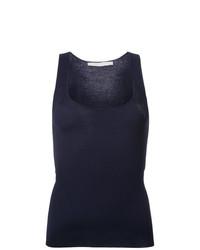Camiseta sin manga azul marino de Dion Lee