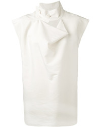 Camiseta sin manga blanca de Marni