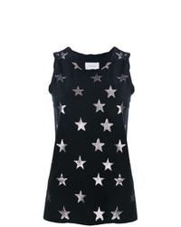 Camiseta sin manga de estrellas negra de Current/Elliott