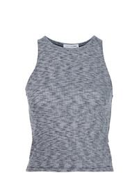 Camiseta sin manga de punto gris de Rag & Bone