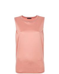 Camiseta sin manga de punto naranja de Fabiana Filippi