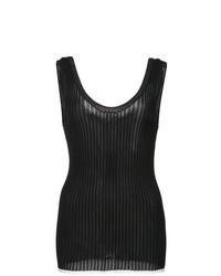 Camiseta sin manga de punto negra de Proenza Schouler