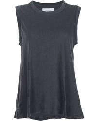 Camiseta sin manga en gris oscuro de The Great