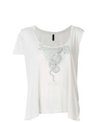 Camiseta sin manga gris de Unravel Project