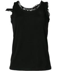 Camiseta sin manga negra de Diesel