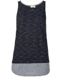 Camiseta sin manga negra de Vince