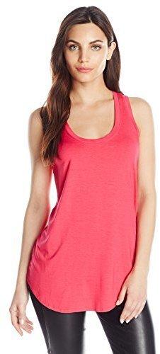 Camiseta sin manga rosa de Three Dots