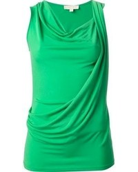 Camiseta sin Manga Verde de MICHAEL Michael Kors