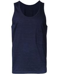 Camiseta sin mangas azul marino de Factotum