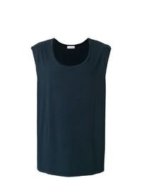 Camiseta sin mangas azul marino de Faith Connexion
